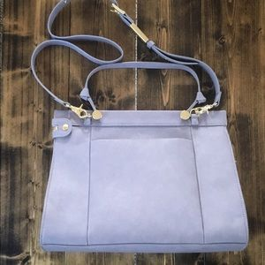 FOLEY + CORINNA Lavender Dione Faux Leather Purse
